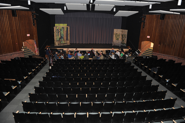 Strath Haven Middle School theater